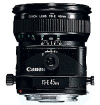 image objectif Canon 45 TS-E 45mm f/2.8