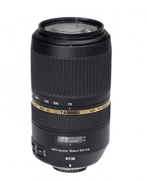 image objectif Tamron 70-300 SP 70-300mm F/4-5.6 Di VC USD