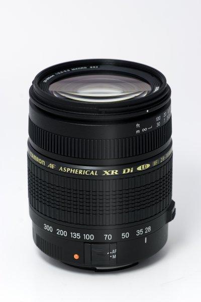 image objectif Tamron 28-300 AF 28-300mm F/3.5-6.3 XR Di LD ASL IF MACRO