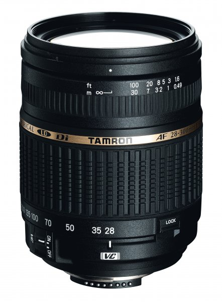 image objectif Tamron 28-300 AF 28-300mm F/3.5-6.3 XR Di VC LD ASL IF MACRO