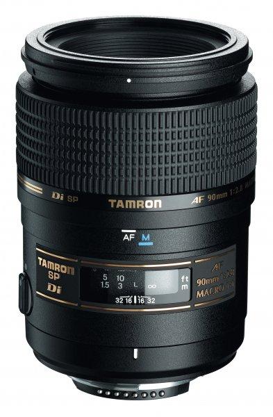 image objectif Tamron 90 SP AF 90mm F/2.8 Di MACRO 1.1