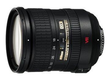 image objectif Nikon 18-200 AF-S VR DX 18-200 mm f/3.5-5.6G IF-ED
