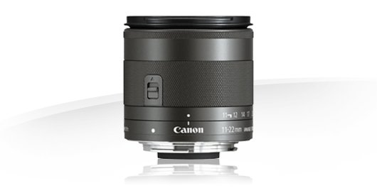 image objectif Canon 11-22 EF-M 11-22mm f/4-5.6 IS STM