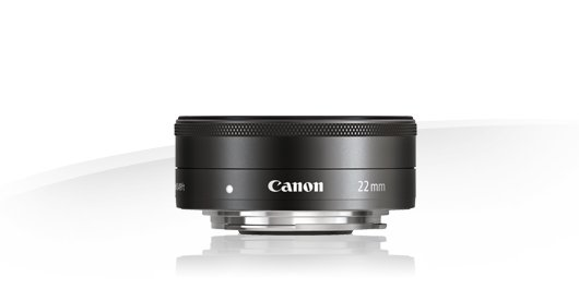 image objectif Canon 22 EF-M 22mm f/2 STM