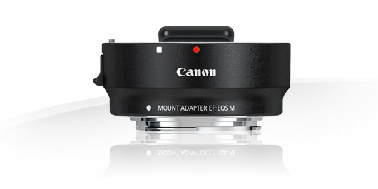 image objectif Canon Mount Adapter EF-EOS M