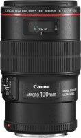 image objectif Canon 100 EF 100mm f/2.8L Macro IS USM