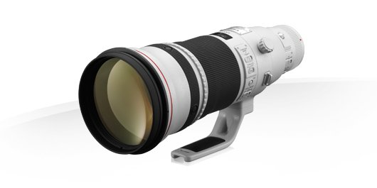 image objectif Canon 500 EF 500mm f/4L IS II USM
