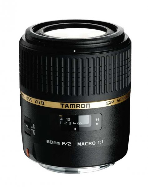 image objectif Tamron 60 SP AF 60mm F/2.0 Di II LD IF Macro 1.1