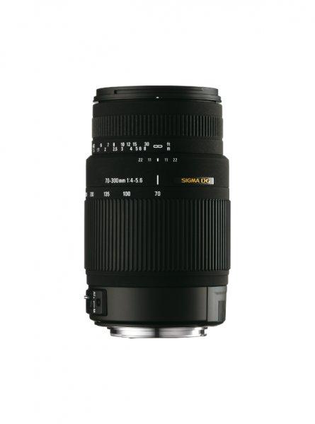 image objectif Sigma 70-300 70-300mm F4-5.6 DG OS pour Minolta