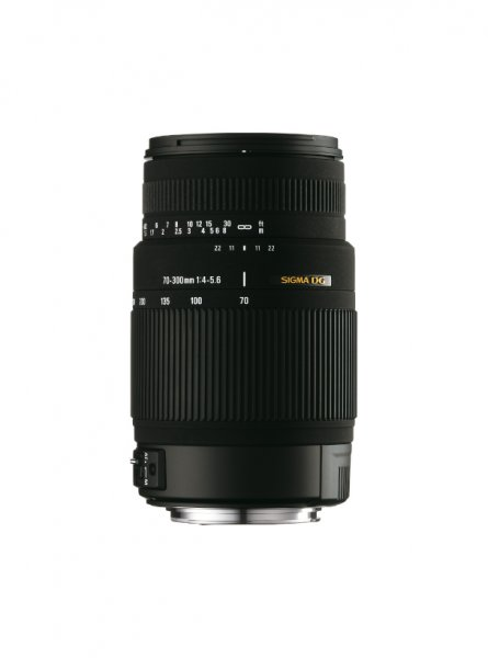 image objectif Sigma 70-300 70-300mm F4-5.6 DG OS pour Sony