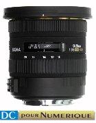 image objectif Sigma 10-20 10-20mm F3.5 EX DC HSM pour Sony