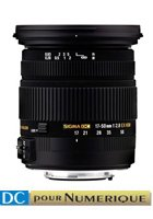 image objectif Sigma 17-50 17-50mm F2.8 EX DC OS HSM pour Canon