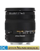 image objectif Sigma 17-70 17-70mm F2.8-4 DC Macro OS HSM
