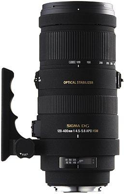 image objectif Sigma 120-400 120-400mm F4.5-5.6 APO DG OS HSM