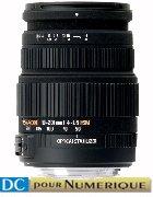 image objectif Sigma 50-200 50-200mm F4-5.6 DC OS HSM