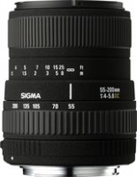 image objectif Sigma 55-200 55-200mm F4-5.6 DC