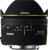 image objectif Sigma 15 15mm F2.8 Fish Eye DG EX