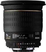 image objectif Sigma 20 20mm F1.8 DG Aspherique EX