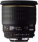 image objectif Sigma 24 24mm F1.8 DG Aspherique EX