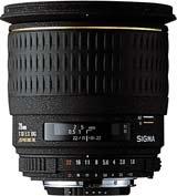 image objectif Sigma 28 28mm F1.8 DG Aspherique EX
