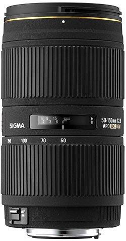 image objectif Sigma 50-150 50-150mm F2.8 II APO DC EX HSM