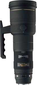 image objectif Sigma 500 500mm F4.5 APO DG EX HSM