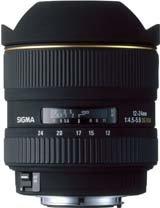 image objectif Sigma 12-24 12-24mm F4.5-5.6 DG EX
