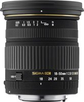 image objectif Sigma 18-50 18-50mm F2.8 DC EX Macro
