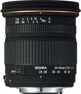 image objectif Sigma 24-60 24-60mm F2.8 DG EX
