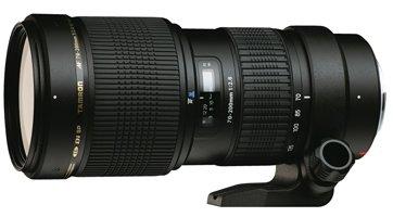 image objectif Tamron 70-200 SP AF 70-200mm F/2.8 Di LD IF MACRO