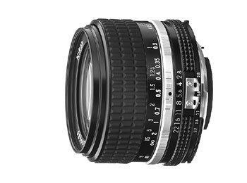 image objectif Nikon 28 28mm f/2.8 Nikkor