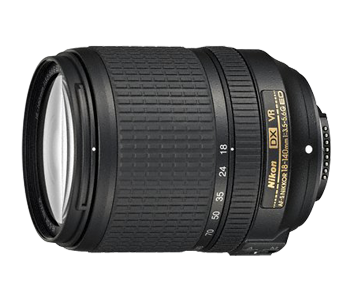 image objectif Nikon AF-S DX NIKKOR 18-140 f/3.5-5.6G ED VR