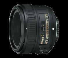 image objectif Nikon 50 AF-S NIKKOR 50 mm f/1.8G