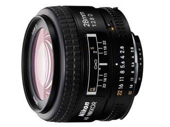image objectif Nikon 28 AF Nikkor 28mm f/2.8D