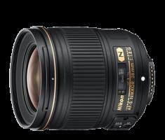 image objectif Nikon 28 AF-S NIKKOR 28 mm f/1.8G