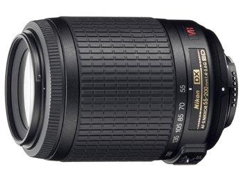 image objectif Nikon 55-200 AF-S DX VR Zoom-Nikkor 55-200mm f/4-5.6G IF-ED
