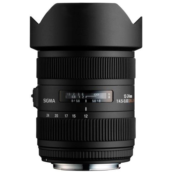 image objectif Sigma 12-24 12-24mm F4.5-5.6 II DG HSM