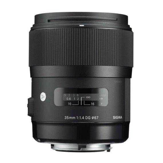 image objectif Sigma 35 ART | 35mm F1.4 DG HSM
