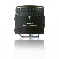 image objectif Sigma 50 MACRO 50mm F2.8 EX DG
