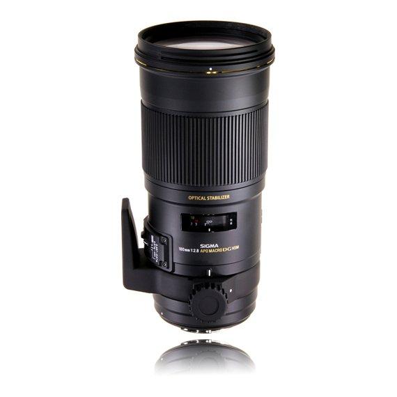 image objectif Sigma 180 MACRO 180mm F2.8 EX DG OS HSM