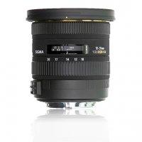 image objectif Sigma 10-20 10-20mm F3.5 EX DC HSM
