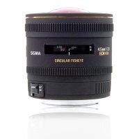 image objectif Sigma 4.5 4.5mm F2.8 EX DC CIRCULAR FISHEYE HSM