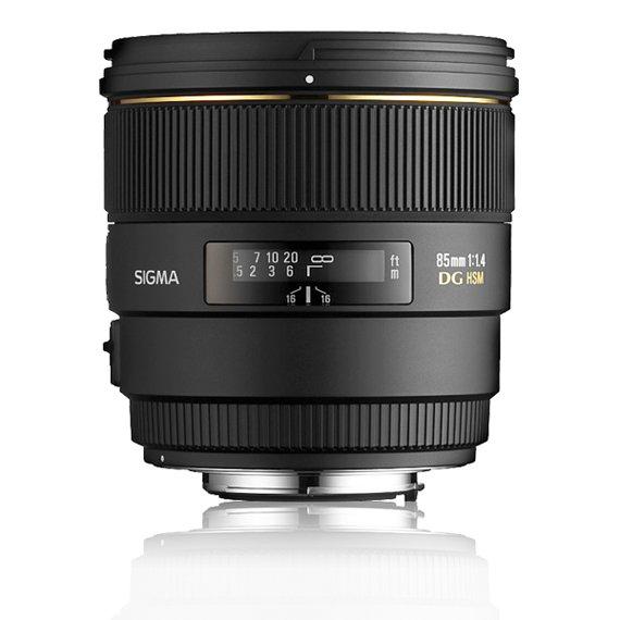 image objectif Sigma 85 85mm F1.4 EX DG HSM