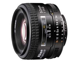 image objectif Nikon 50 AF 50 mm f/1.4D