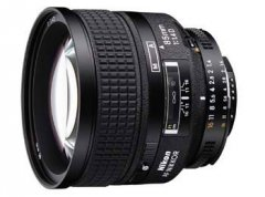 image objectif Nikon 85 AF 85 mm f/1.4D