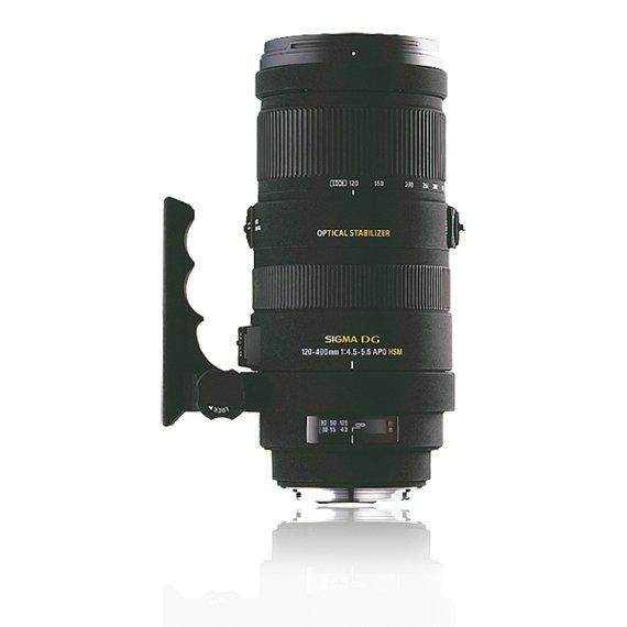 image objectif Sigma 120-400 APO 120-400mm F4.5-5.6 DG OS HSM