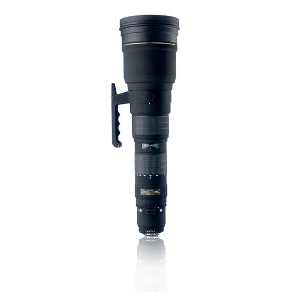 image objectif Sigma 300-800 APO 300-800mm F5.6 EX DG HSM