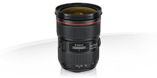 image objectif Canon 24-70 EF 24-70mm f/2.8L II USM