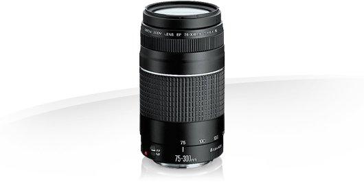 image objectif Canon 75-300 EF 75-300mm f/4-5.6 III